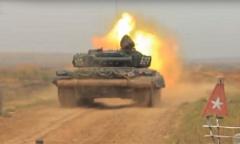 Танк Т-72Б. Стрельбы