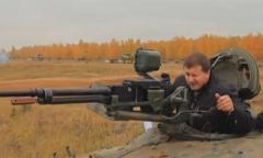Стрельба штатным снарядом