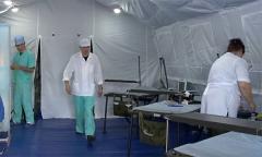 Полевой госпиталь медицинского отряда специального назначения