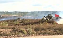 Боевая стрельба с применением артиллерии и авиации
