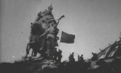 Советский флаг над рейхстагом