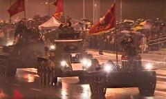 Генеральная репетиция парада Победы в Минске (2015 г.)