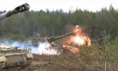 Боевые стрельбы 2C3 «Акация»