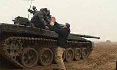 Стрельба танков