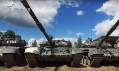 Подготовка к танковому биатлону – 2016