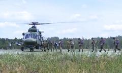 Десантирование с вертолета