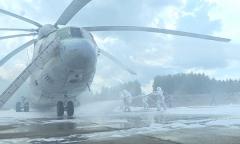 Учение военных спасателей