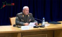 Брифинг начальника Генерального штаба