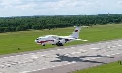 Подготовка авиации к параду 3 июля