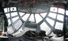 360° Ил-76. Взлет и посадка