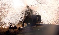 Ночная стрельба артиллерии