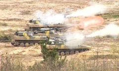 Состязания артиллеристов