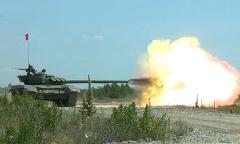 Освоение новых танков Т-72Б3