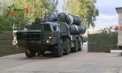 Подразделения зенитных ракетных войск отправились на полигон Ашулук