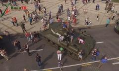 День танкистов в парке Победы
