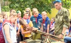 Спецназ в детском лагере