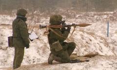 Тренировка гранатометчиков