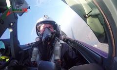Полеты на «МиГ-29» от первого лица