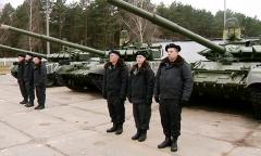 Белорусская армия пополнилась очередной партией танков Т-72Б3