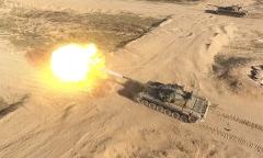 Стреляют танки. Квадрокоптер