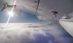 Тренировка над облаками