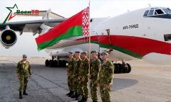 Белорусские подразделения прибыли в Узбекистан
