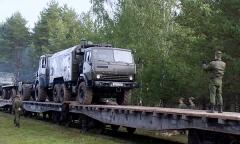 «Щит Союза – 2019». Прибытие белорусского контингента
