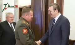 Министр обороны Беларуси встретился с президентом Сербии