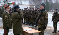 Военная присяга в 120-й гвардейской отдельной механизированной бригаде