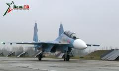 Су-30СМ. Вторая пара прибыла в Беларусь