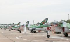 Новые Як-130 прибыли в Беларусь