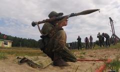 Стрельба из гранатомета РПГ-7В