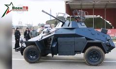 Военные реставраторы создали немецкий бронеавтомобиль