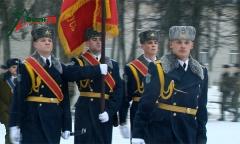 Вручение Боевого Знамени