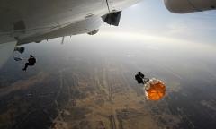 Десантирование из Ил-76