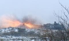 Артиллерия. Зимние огни