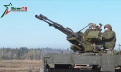 «Адунок» и ЗУ-23. Стрельба