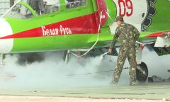 Учения пожарных в Лиде
