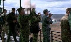 Военные атташе об учениях