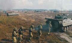 Союзники уничтожили лагерь боевиков