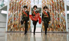 Знамя Победы в надежных руках