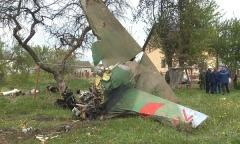 Крушение Як-130 в Барановичах
