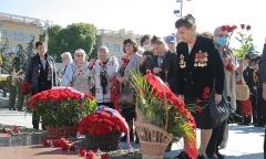 В память о жертвах блокадного Ленинграда