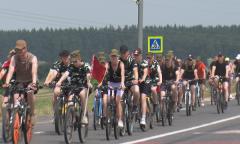 Велопробег в Копыльском районе