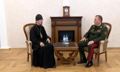 Встреча министра с митрополитом