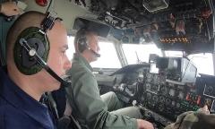 Ан-26. В кабине пилота